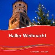 Haller Weihnacht - Haller Tagblatt