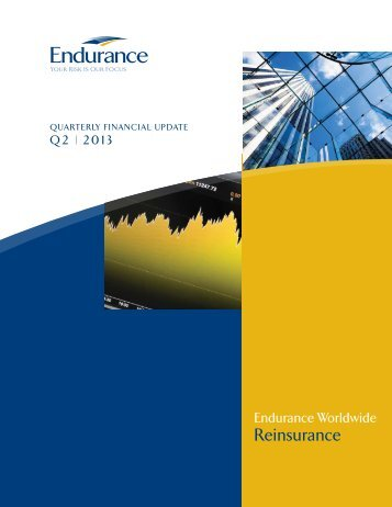 Reinsurance - Endurance Specialty Insurance Ltd.