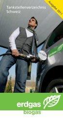 Tankstellenverzeichnis Schweiz