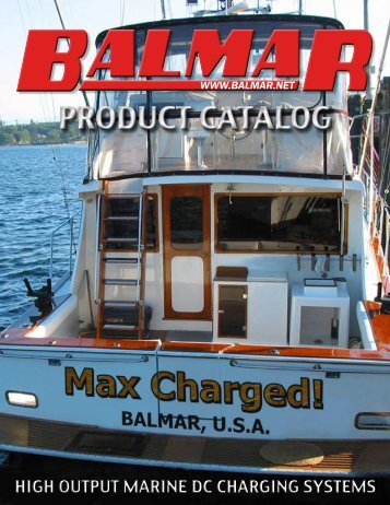 PRODUCT CATALOG - Balmar