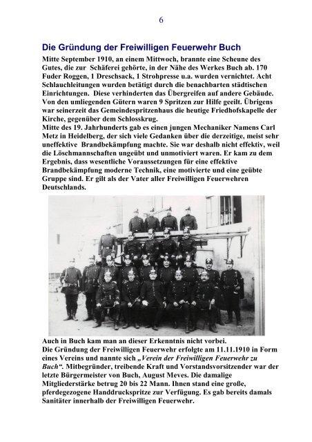 Verein der Freiwilligen Feuerwehr zu Buch e.V.