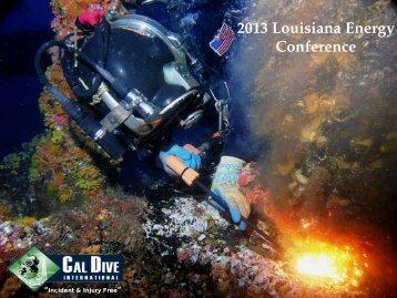International Panel - LouisianaEnergyConference.com