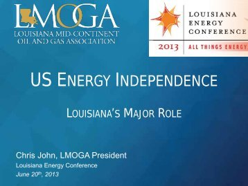 Louisiana Mid-Continent Oil and Gas Association