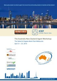 The Australia New Zealand Agent Workshop