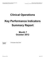October 2012 - Northern Devon Healthcare NHS Trust NDHT
