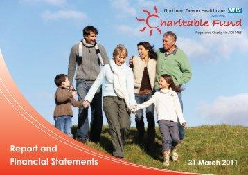 haritable Fund - Northern Devon Healthcare NHS Trust NDHT