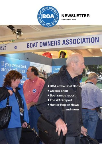 September 2012 - The Boat Owners' Association of NSW