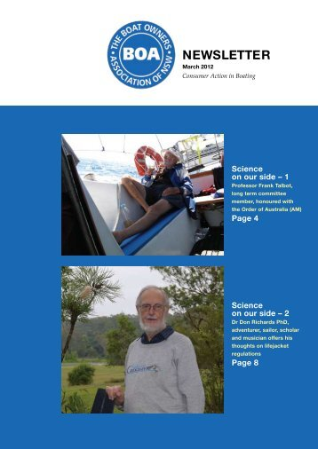 March 2012 - The Boat Owners' Association of NSW