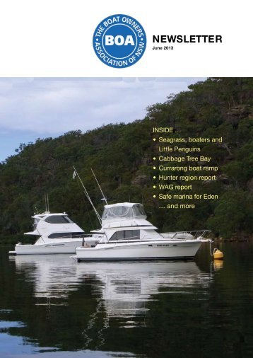 June 2013 - The Boat Owners' Association of NSW
