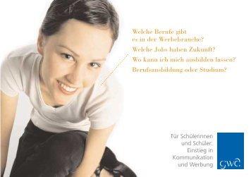 Welche Berufe gibt es in der Werbebranche? - Kommunikarriere.de