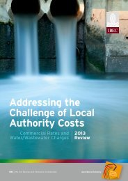 Addressing the Challenge of Local Authority Costs - FinFacts