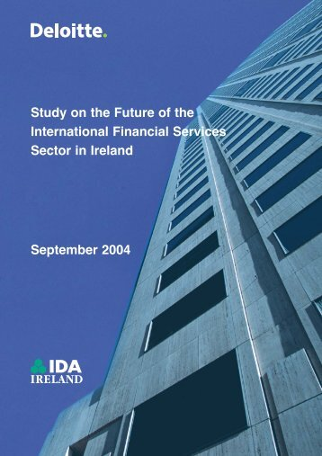 International Financial Services Centre Report - FinFacts
