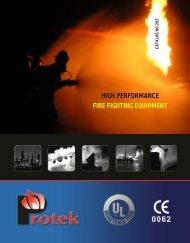 high performance fire fighting equipment - Da Miano & Graham