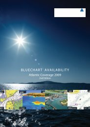 BLUECHART™ AVAILABILITY - Jos Boone Watersport