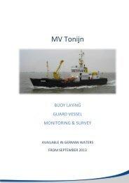 MV Tonijn - EMS Maritime Offshore GmbH