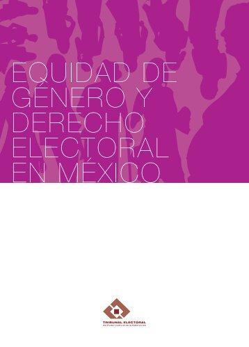 Equidad de género y derecho electoral en México