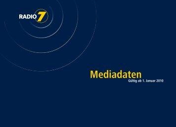 Mediadaten - Radio 7