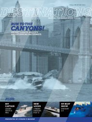 Winter 2012 Destinations - Strong's Marine
