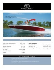 200 SPECIFICATIONS OUTSTANDING POINTS COBALT