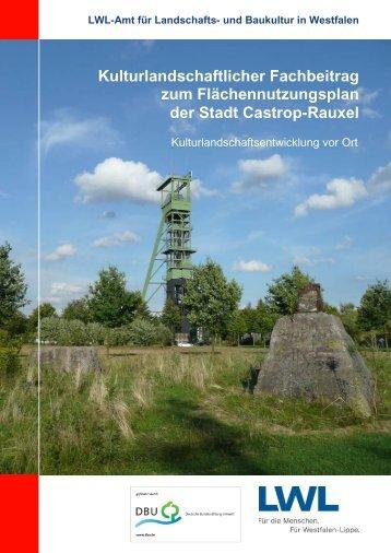Kulturlandschaftlicher Fachbeitrag zum Flächennutzungsplan der ...