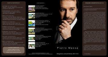 Pietro Massa - Massa Konzertmanagement