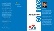 presidential citation brochure - Rotary District 6360