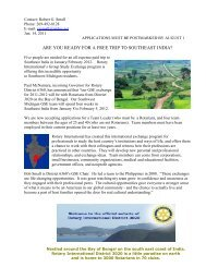Are You Ready for a Free Trip to Italy - Rotary District 6360