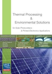 Thermal Processing & Environmental Solutions - Megtec Systems