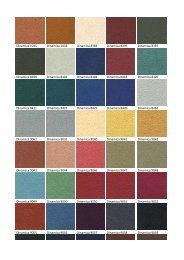 Varier Dinamica Kleurenkaart