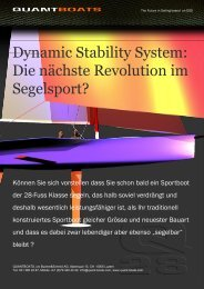 Dossier: Dynamic Stability System - quantboats