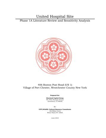Phase 1A Literature Review & Sensitivity Analysis - Village of Port ...