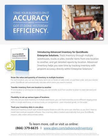 Intuit AIES Sales Sheet