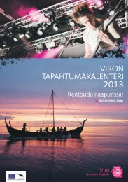 Viron tapahtumakalenteri - Visitestonia.com