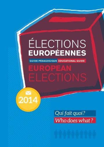 Document pédagogique elections europeennes qui fait quoi[small]