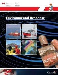 Environmental Response - Pêches et Océans Canada