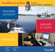 Employés à tErrE pErsonnEl navigant étudiants - Canadian Coast ...