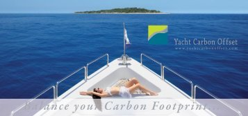 Flyer - Yacht Carbon Offset