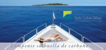 Compense su huella de carbono... - Yacht Carbon Offset