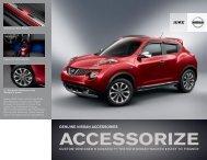 Nissan Juke | Accessories Brochure | Nissan USA