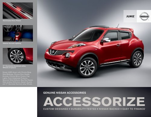 Nissan Juke | Accessories Brochure | Nissan USA