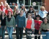Das Schulprogramm - Meldorfer Gelehrtenschule