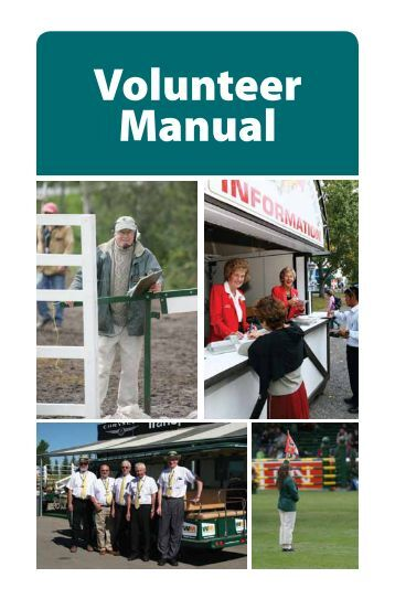 Volunteer Manual - Spruce Meadows Shop