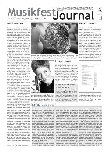 Eins von zwölf - Festivalensemble Stuttgart