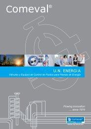 Catálogo Corporativo Sector Energía - COMEVAL