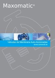 Válvulas membrana autoaccionadas - COMEVAL