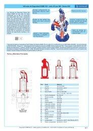 Válvulas de Seguridad ASME VIII – sello UV por NB ... - COMEVAL