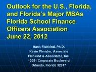 Revenue Trends and Economic Update - Florida School Finance ...