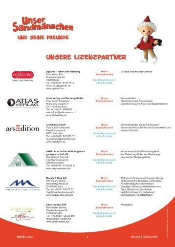 Unsere Lizenzpartner - rbb media GmbH