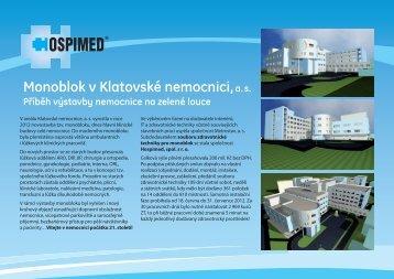 příběh nemocnice na zelené louce - Hospimed CZ