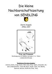 Liebe Fussballfans - Mein Sendling